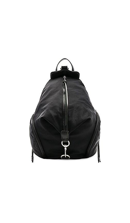 Rebecca Minkoff Julian Nylon Backpack in Black