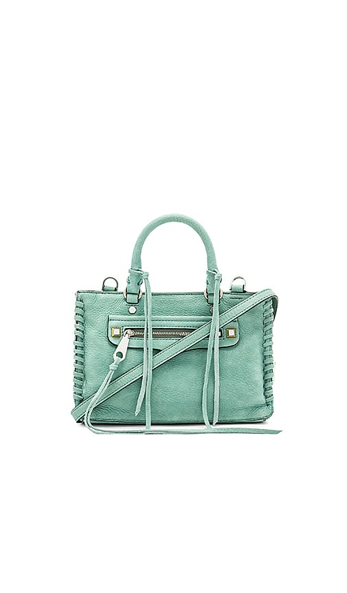 Rebecca Minkoff Micro Regan Satchel in Green