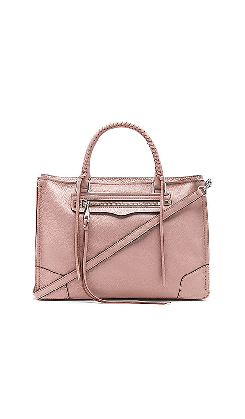 Rebecca Minkoff Regan Satchel in Pink