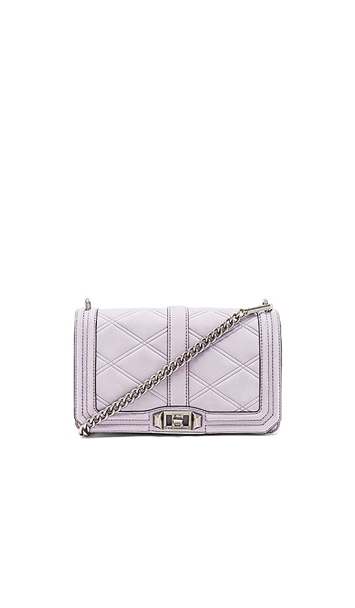 Rebecca Minkoff Love Crossbody Bag in Purple