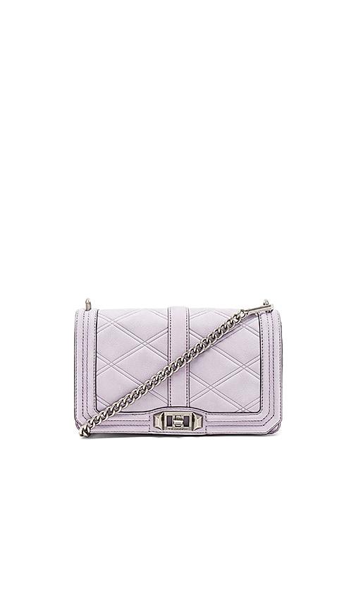 Rebecca Minkoff Love Crossbody Bag in Purple