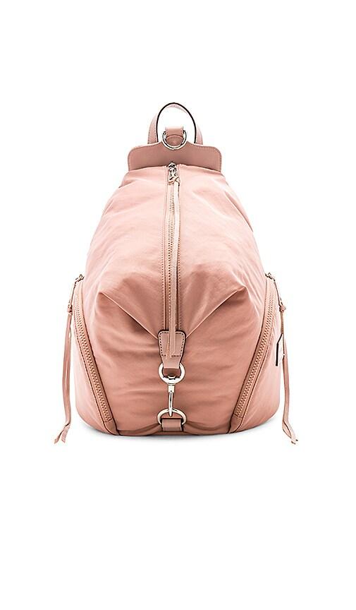 Rebecca Minkoff Julian Nylon Backpack in Pink