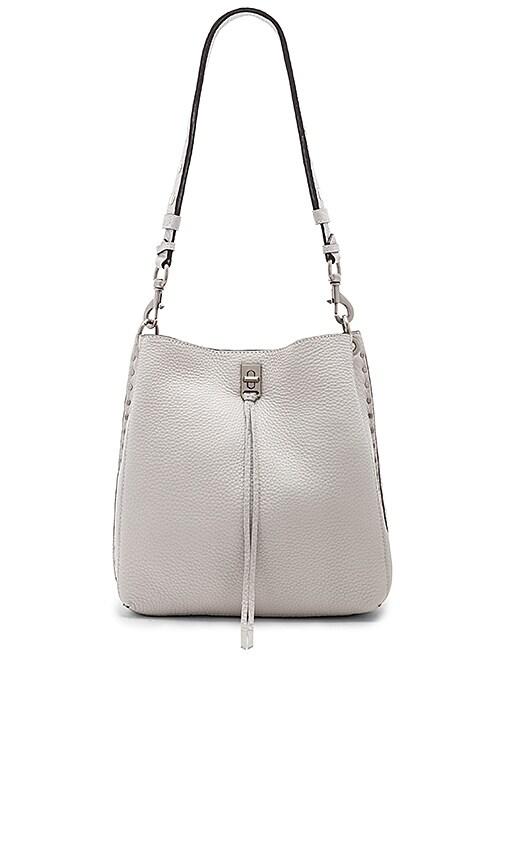 Rebecca Minkoff Darren Shoulder Bag in Light Gray