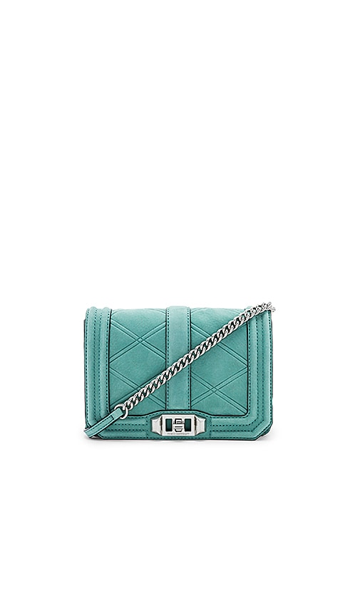 Rebecca Minkoff Small Love Crossbody Bag in Green