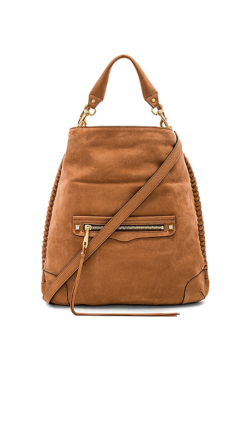 Rebecca Minkoff Slim Regan Hobo in Tan