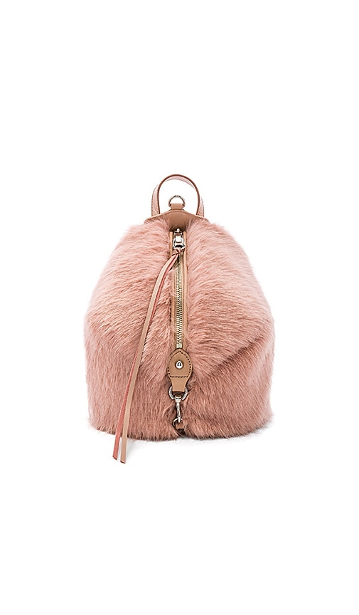 Faux Fur Mini Julian Backpack