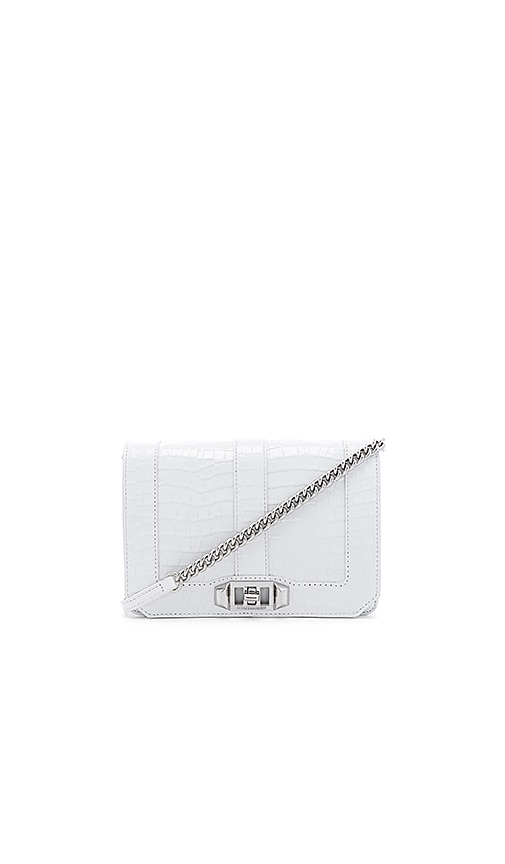 Croco Small Love Crossbody