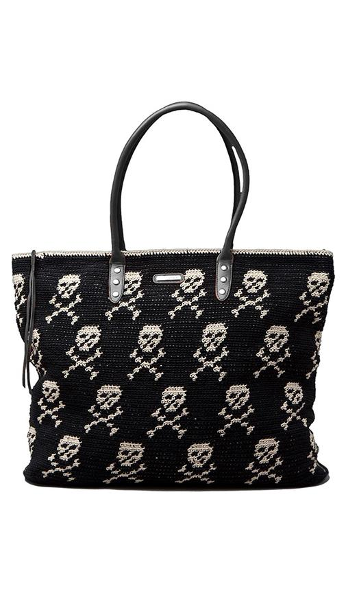 East West Skull Tote
