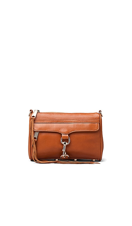 Rebecca Minkoff Mini Mac Handbag in Almond