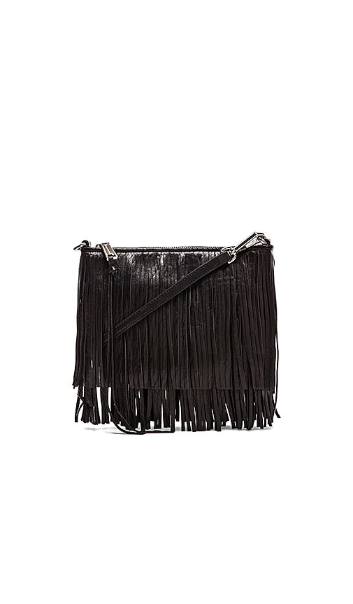 Rebecca Minkoff Finn Clutch in Black