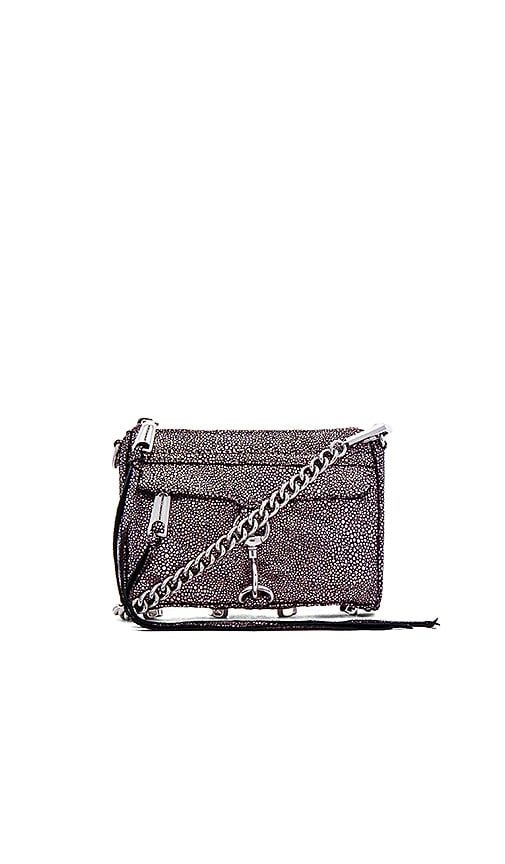 Rebecca Minkoff Micro MAC Clutch in Caviar Rose