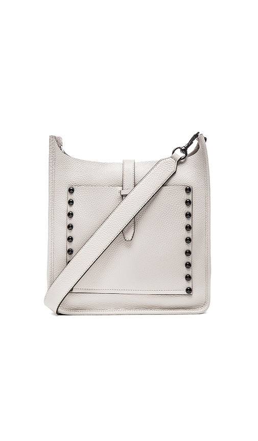 Rebecca Minkoff Unlined Feed Crossbody Bag in Putty