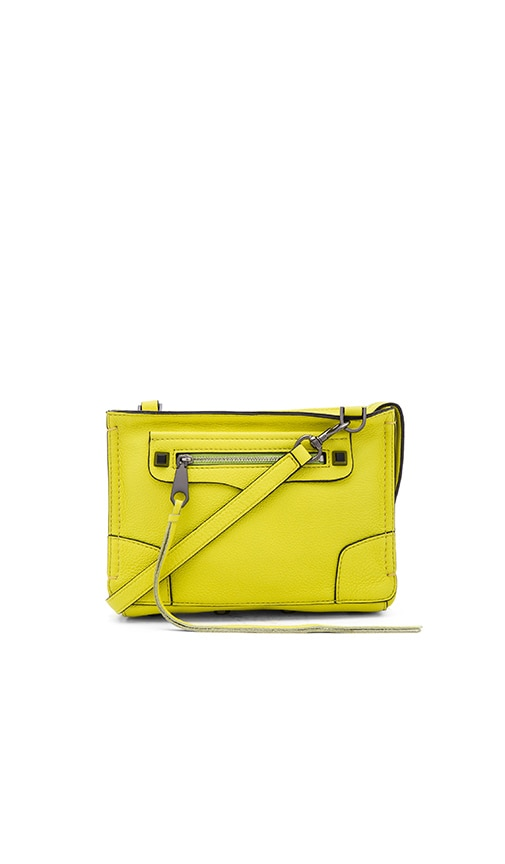 Rebecca Minkoff Regan Crossbody Bag in Limeade