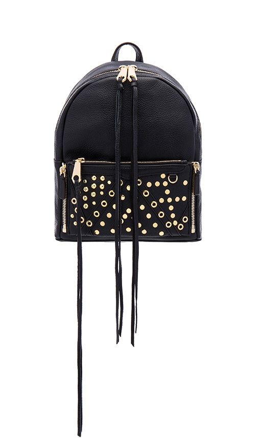 Rebecca Minkoff Small Lola Backpack in Black