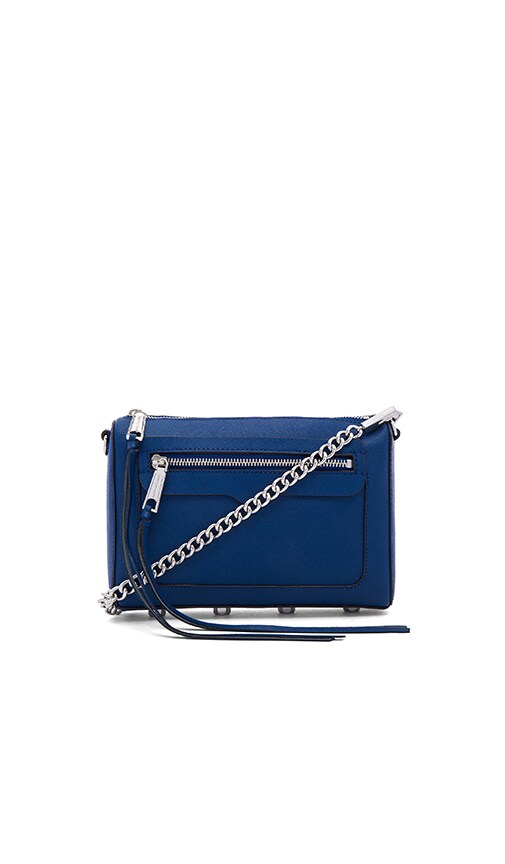 Rebecca Minkoff Avery Crossbody Bag in Cobalt