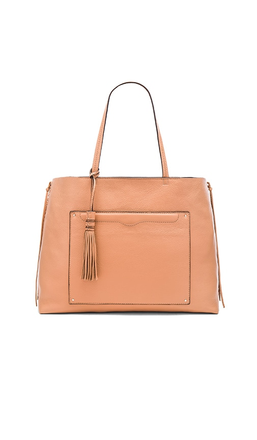 Rebecca Minkoff Panama Tote Bag in Tan