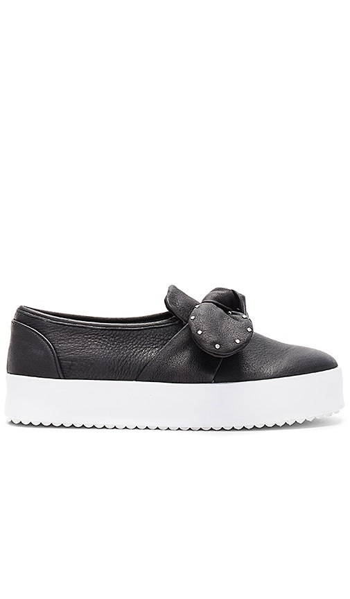 Rebecca Minkoff Stacey Studded Sneaker in Black