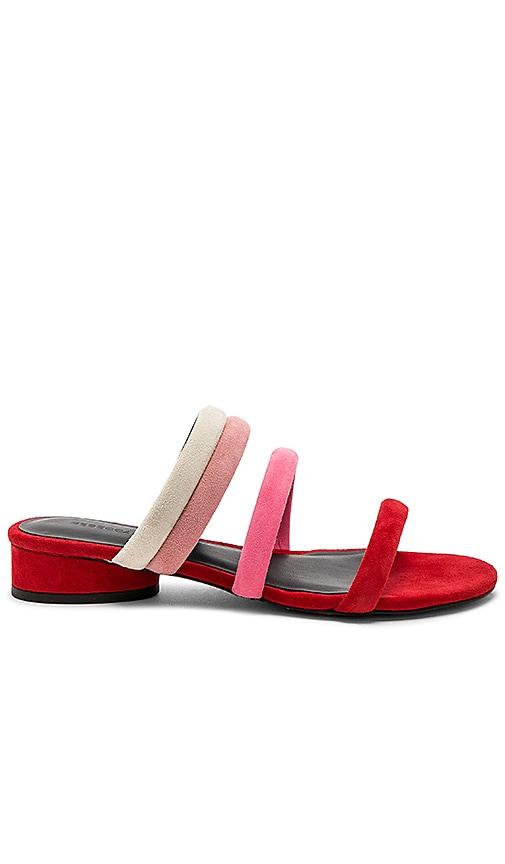 Rebecca Minkoff Kade Sandal in Red