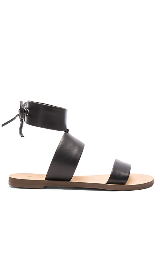 Sandals Rebecca Minkoff Emma Black Vachetta