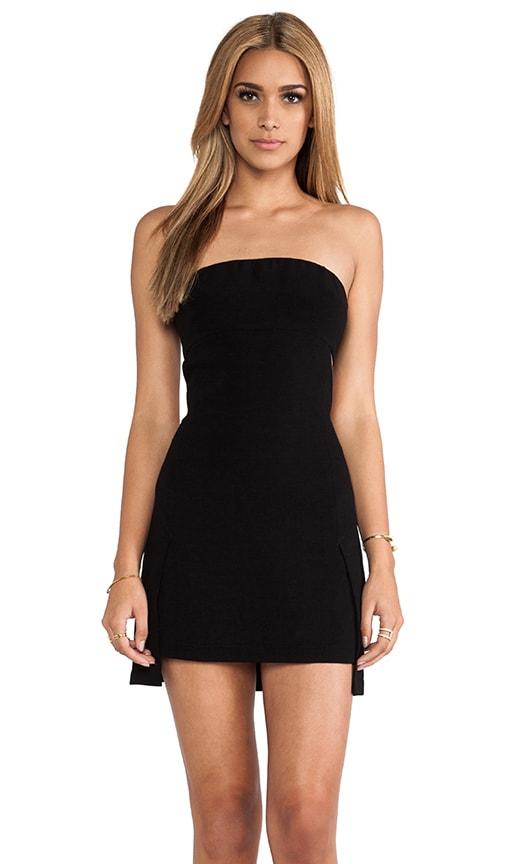 Crepe Cutout Dress