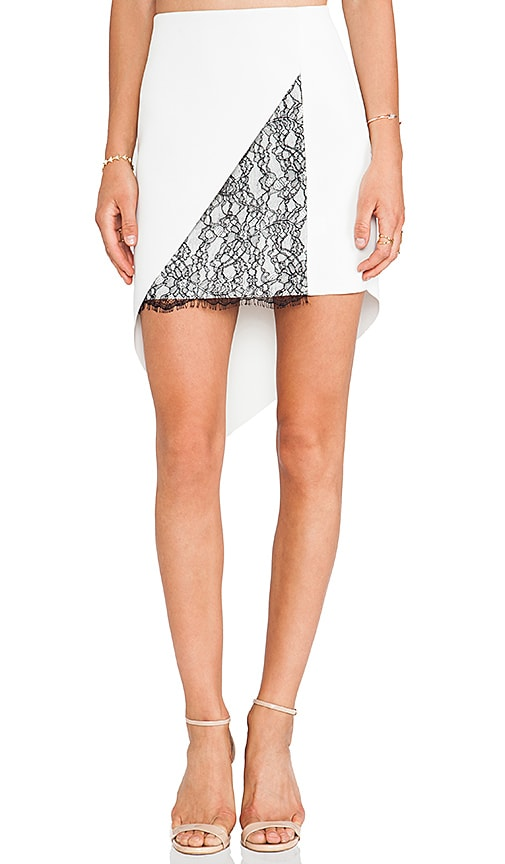 Geo-Lace Skirt