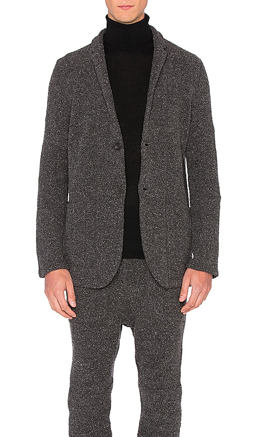 Robert Geller Richard Jacket in Black