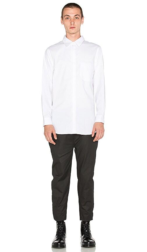 Rochambeau Last Night Shirt in White