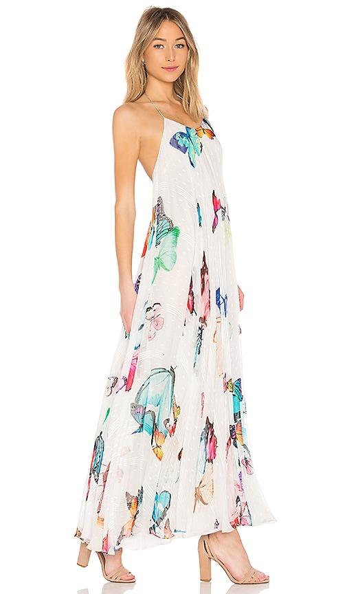 ROCOCO SAND Blossom Maxi Dress in White