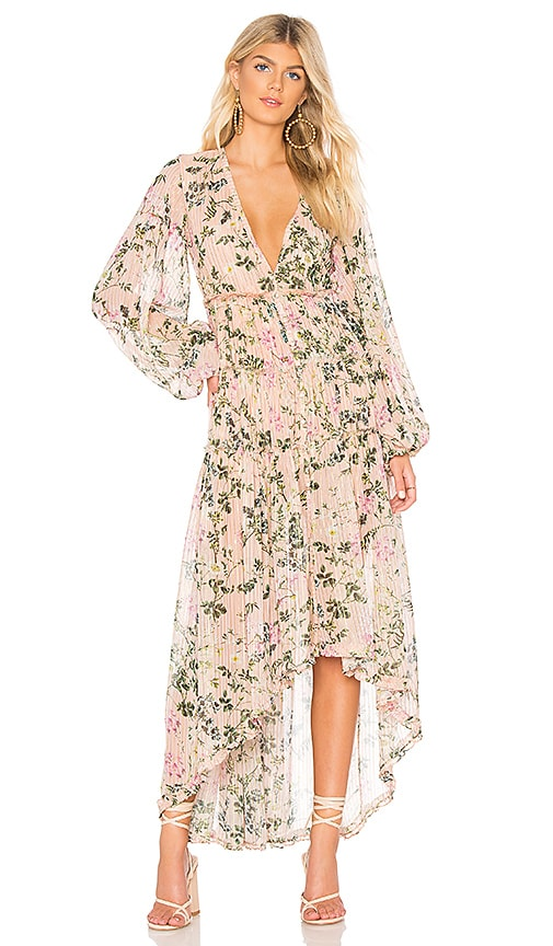 ROCOCO SAND x REVOLVE Flora Maxi Dress in Pink