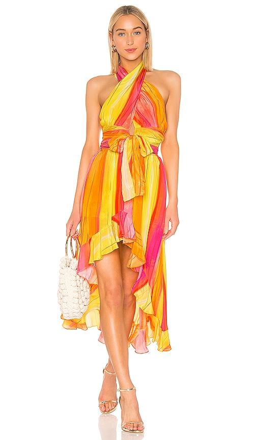 Universe Printed Concept Dress