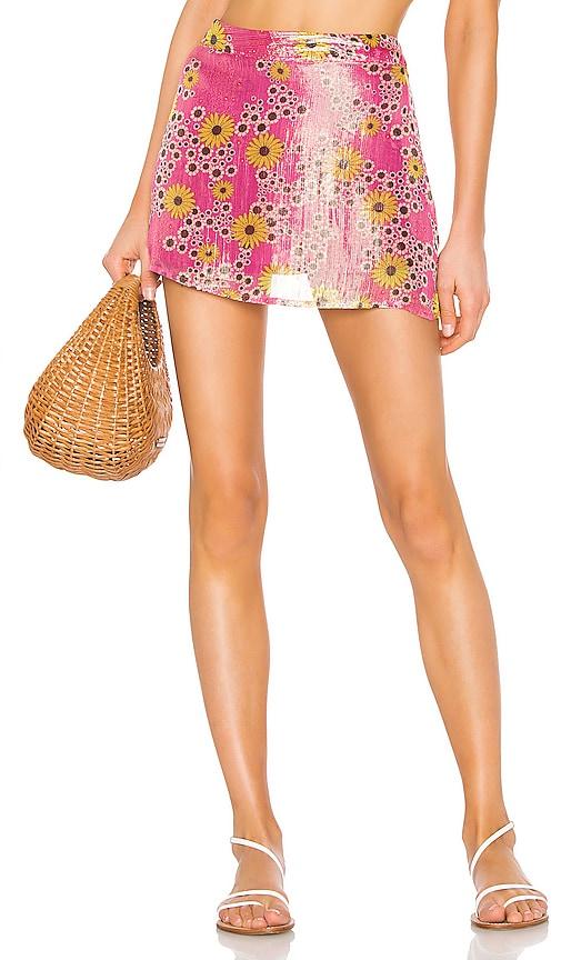 x REVOLVE Mini Skirt