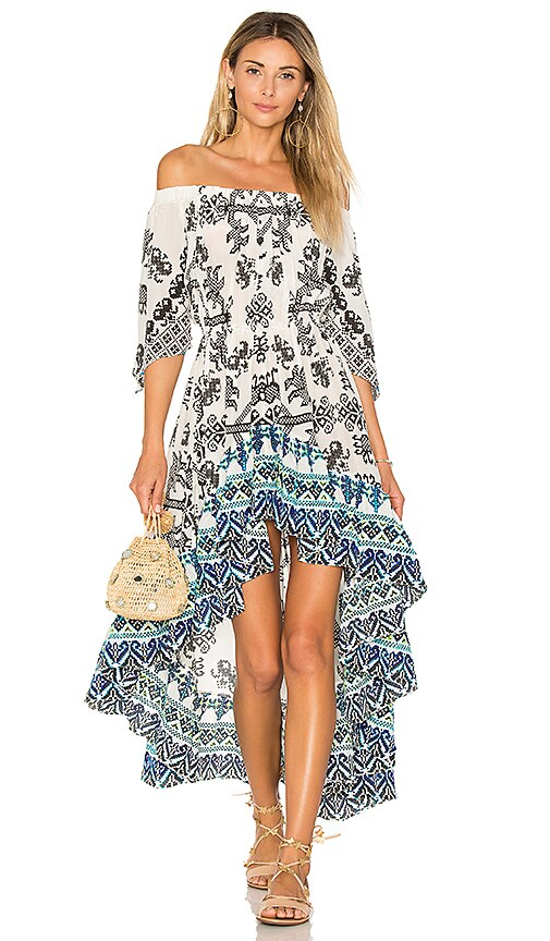 ROCOCO SAND Off the Shoulder Dress in Black