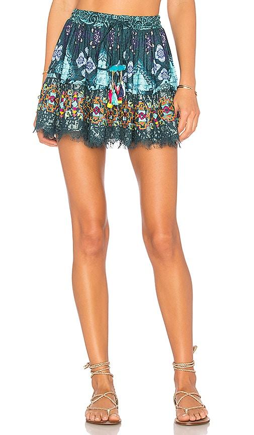 ROCOCO SAND X REVOLVE Mini Skirt in Blue