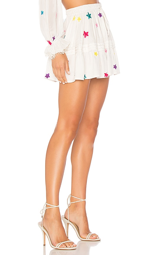 cce985394 ROCOCO SAND x REVOLVE Stellar Skirt in White Discout Code | Revolve Sale