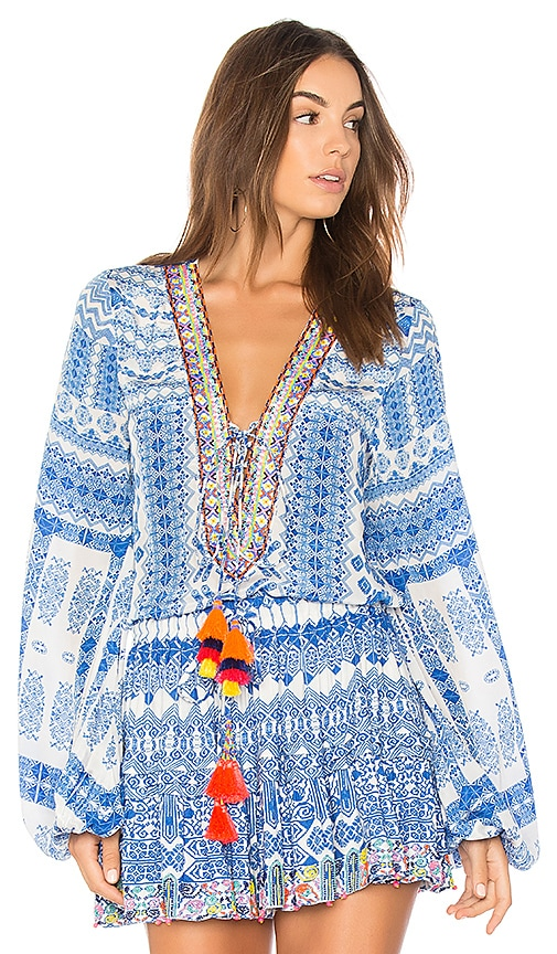 ROCOCO SAND Ionic Top in Blue
