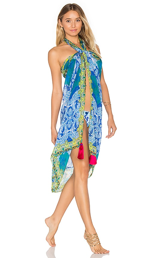 ROCOCO SAND Pareo Cover Up in Blue