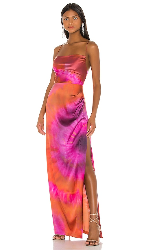 Retrofete X Revolve Marlene Dress In Bronze Pink Purple Revolve Choose from more than 23198 items. x revolve marlene dress