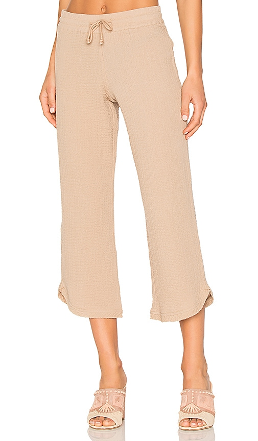 ROI Pull On Pant in Tan