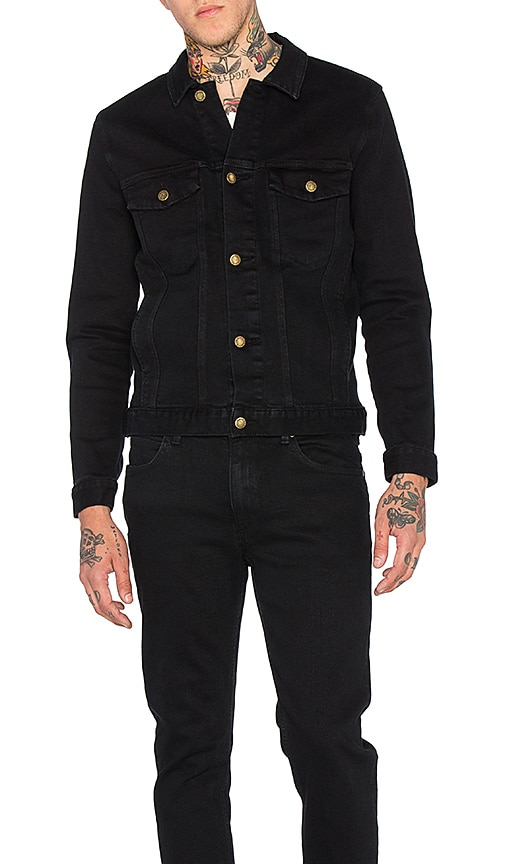 ROLLA'S Denim Jacket in Black