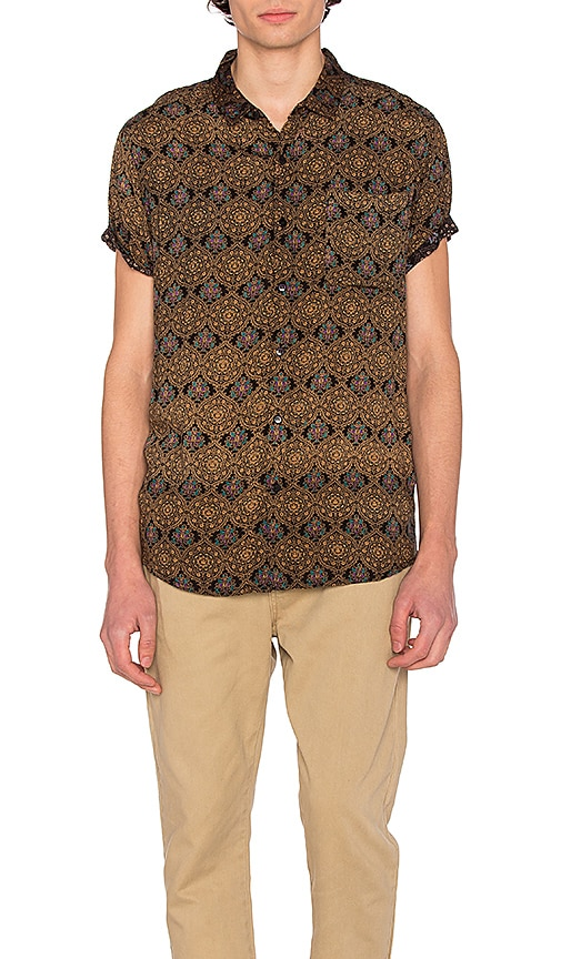 ROLLA'S Dark Sun Shirt in Brown