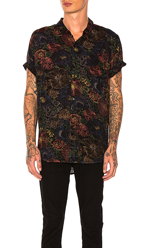 ROLLA'S Electric Beach Shirt in Black