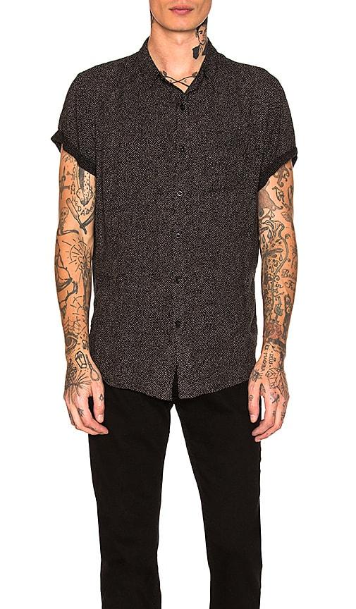 ROLLA'S Beach Boy Shirt in Black