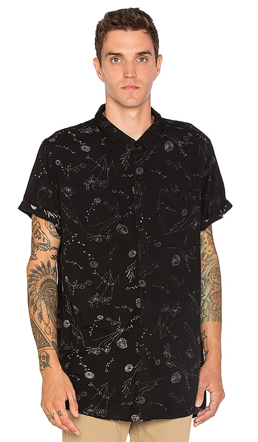 ROLLA'S Dandy Lion Shirt in Black