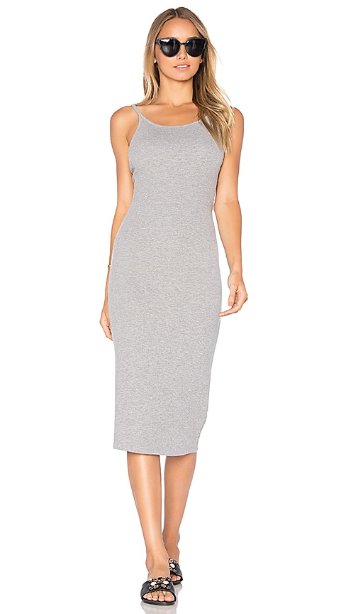 ROLLA'S Shoestring Dress in Gray