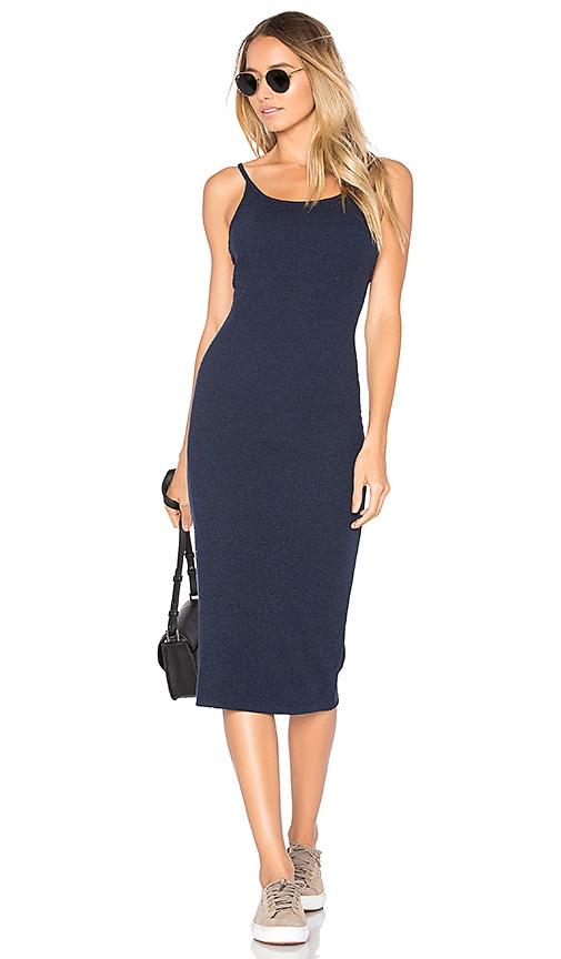 ROLLA'S Shoestring Dress in Navy