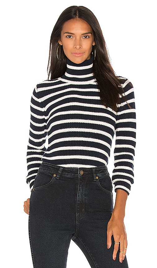 ROLLA'S Deck Sweater in Navy