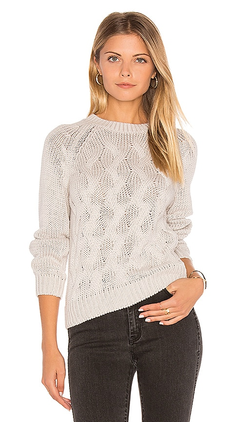 ROLLA'S Estella Sweater in Light Gray
