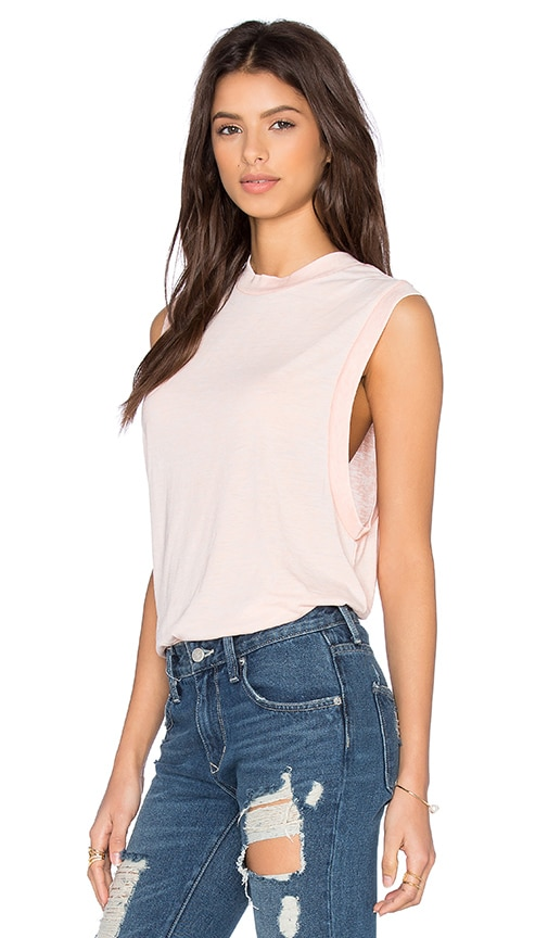 ROLLA'S Muscle Tank in Blush