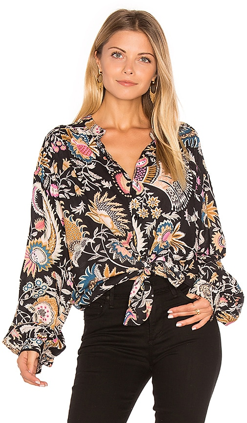 ROLLA'S Dancer Blouse in Black