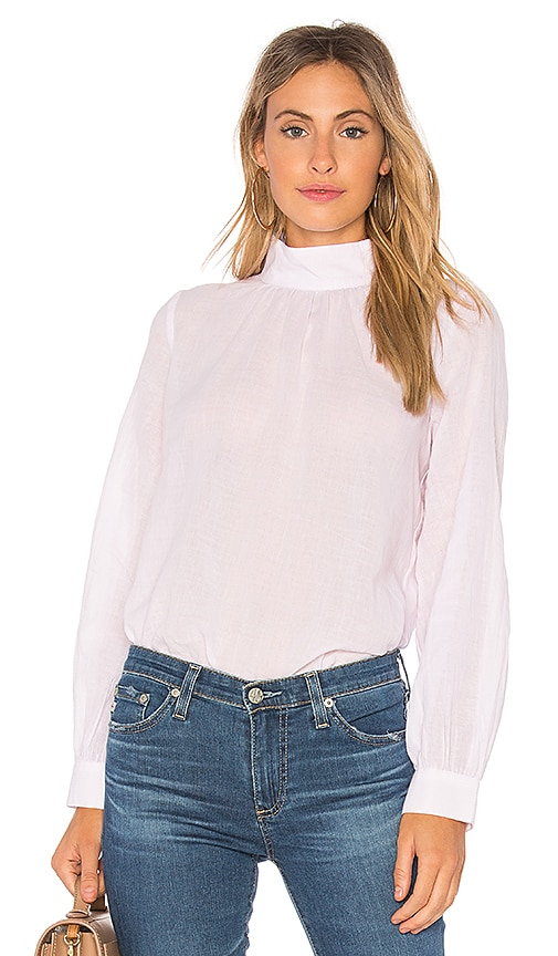 ROLLA'S Louise Blouse in Pink
